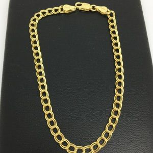 Jewelry - 14K Yellow Gold Double Link Bracelet